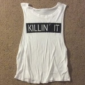 """Killin' It"" Work Out Tank"